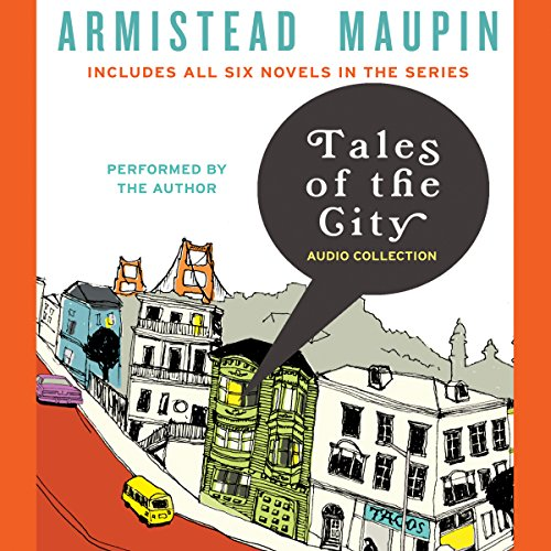 Tales of the City Audio Collection audiobook cover art