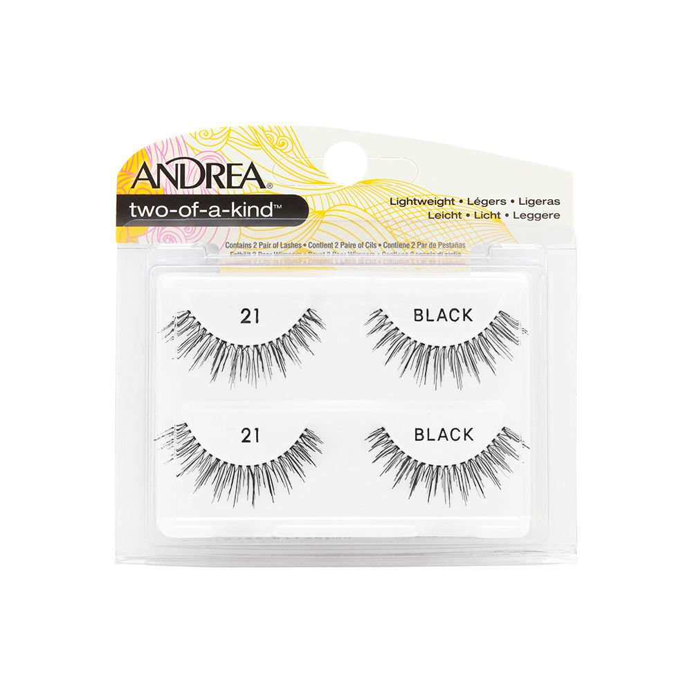 Andrea False All items in the store Eyelashes Strip Lash Twin a Packs Nashville-Davidson Mall Kind of Two 21