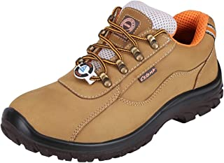 ACME Zephyr Leather Safety Shoes Brown (Size - ACME002_41)