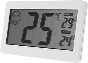 COMEYOU Mini LCD Digital Termómetro Higrómetro de Temperatura Medidor de Humedad Útil, 3.3