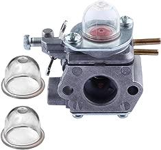 Hipa Carburetor with Primer Bulb for Troy-Bilt TB80EC TB32EC YM21CS TB21EC TB22EC TB2040XP Trimmer # WT-973