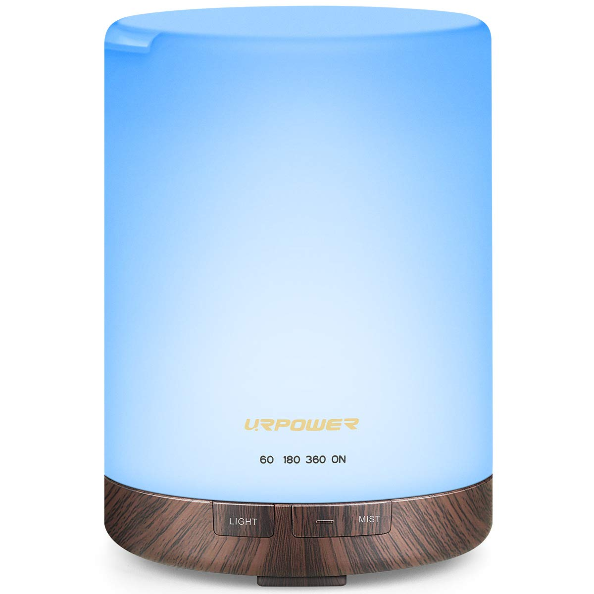 URPOWER 2nd Gen 300ml Aroma Essential Light Excellence At the price of surprise Diffuser U Oil Night