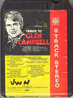 GOLDEN RING Tribute to Glen Campbell 8 Track Tape