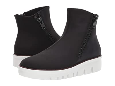 FitFlop Chunky Zip Ankle Boot (Black) Women