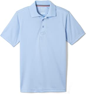 French Toast Boy's Short Sleeve Moisture Wicking Stretch Sport Polo Shirt