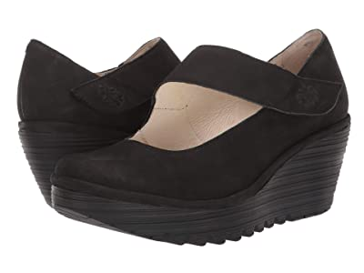 FLY LONDON YASI682FLY Wide (Black Cupido) Women