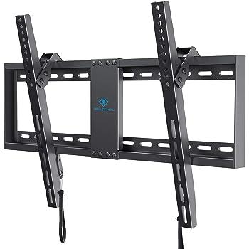 PERLESMITH テレビ壁掛け金具 32-70インチ 極薄33㎜ ワンタッチ簡単設置 LCD LED 左右傾き調節 耐荷重60kg