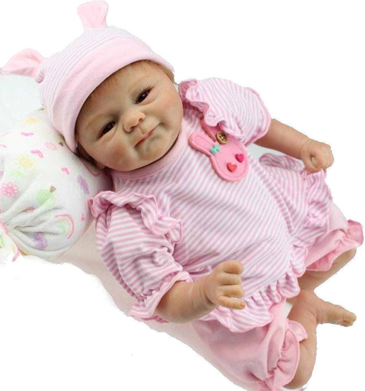 18 inch Reborn Doll Realistic Rebirth Toddler Girl Silicone Newborn Doll Girl Boy Toy Birthday Gift