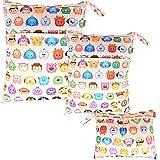 Damero 3pcs Dry Bag pacchetto Wet per pannolini di stoffa pannolino Bag Daycare sacchetto ...