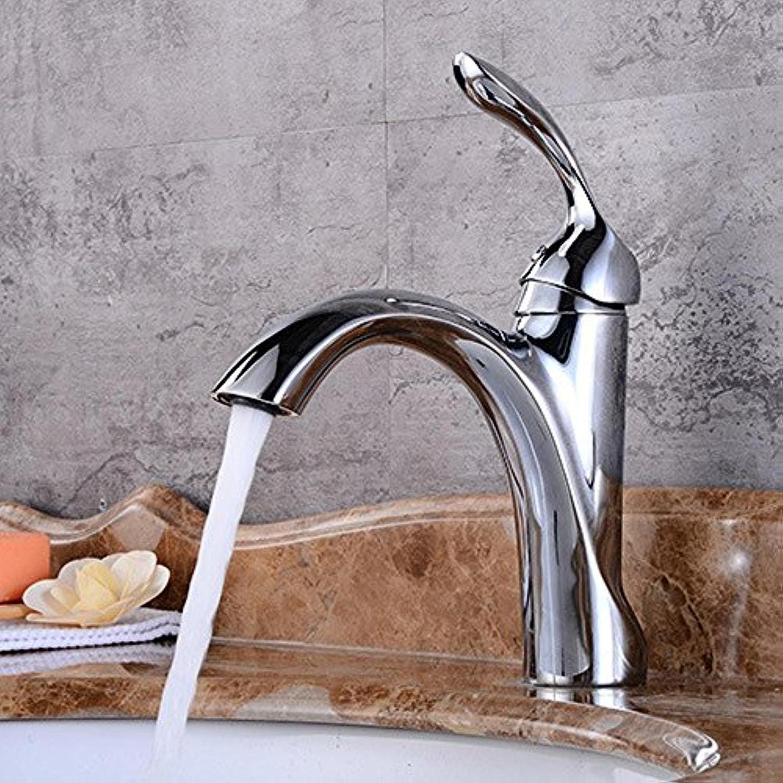 Luziang Hahn Einlocharmatur Bassinhahn elektrische Armatur Europischer Wasserhahn- Sicherer für in Bad WC Küche