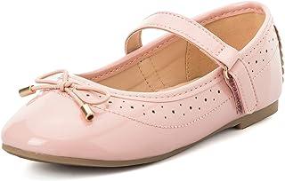 K KomForme کفش تخت دخترانه بچه گانه کفش بدون لغزش نرم باله Mary Jane کفش های پیاده روی