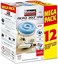 RUBSON Promo Mega Pack Aero 360 navulverpakking, neutraal, 12 stuks