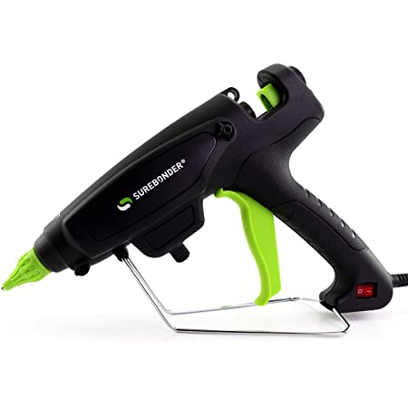 "Surebonder PRO2-220 220 Watt Adjustable Temperature Professional Heavy Duty Hot Glue Gun - Uses full size, 7/16"" sticks"