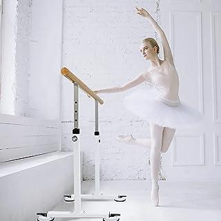 Wooden Portable Ballet Bar Stretch Barre Dance Bar 1.5M Freestanding Ballet Bar