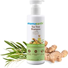 Mamaearth Tea Tree Anti Dandruff Shampoo, With Tea Tree & Ginger Oil, 250ml