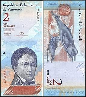 100 x 2 Bolivares Venezuela, 2012, P-88, UNC, Bundle, Pack - very rare For collectors (Only 1 Set left)