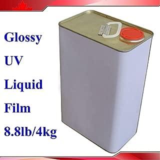4Kg(8.8Lb) UV Laminating Film Liquid for UV Coater Coating Laminator Machine