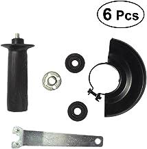 UKCOCO 6 UNIDS llave de Metal Lock Nut Shield Taladro de Conversión Herramienta de Molienda de Ángulo de Dewalt Milwaukee Makita