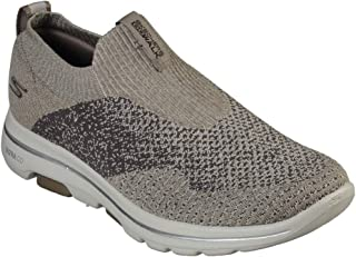 SKECHERS GO WALK 5 Mens Shoes, Brown (Khaki), 7 UK (41 EU)