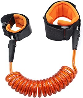 Kids Anti Lost Wrist Safety Strap Walking Hand Belt For Toddlers (Orange)
