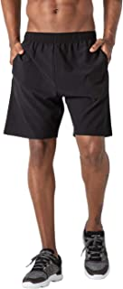Men's Hands Free Workout Running Athletic Shorts with Pockets