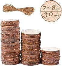 confezione da 450 Baker Ross Rondelle di Legno Naturale