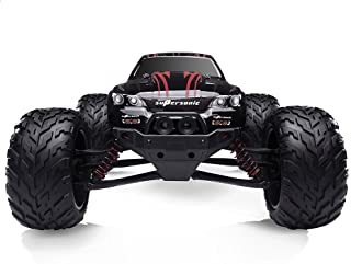 Hosim High Speed RC Off-Road Car 9112, 38km/h 1/12 Scale Radio Controlled Electric All Terrain Car - 2.4Ghz 2WD Remote Control Monster Truck for Both Kids and Adults (Red)