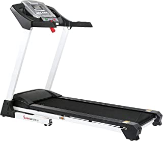 Sunny Health & Fitness Caminadora Inteligente con Autoinclinación, Sistema de Sonido, Bluetooth y Función de Teléfono SF-T...
