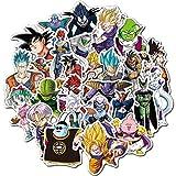 50Pcs Dragon Ball Z Animation Theme Stickers Variety...