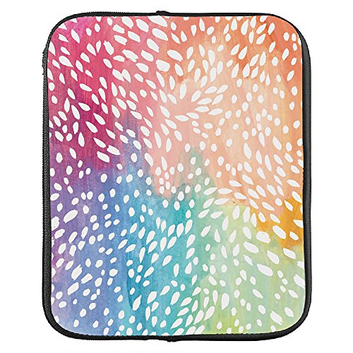 Erin Condren Large Designer Planner Folio - Painted Petals, Perfect Organizer for Documents, Planners, and Notebooks. Portfolio Case Holder with Zipper and Inner Pouch