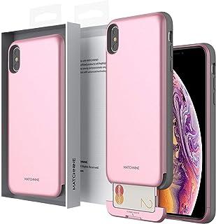 Apple iPhone XS MAX Matchnine Cardla Slot Back Case Cover - Rose Pink