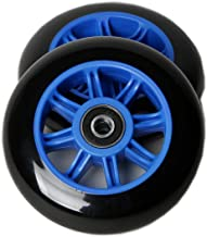 FREEDARE Scooter Wheels 100mm for Scooter Replacement Wheels with Bearings (Pack of 2)