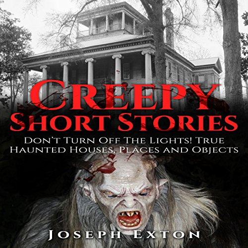 Creepy Short Stories audiobook cover art