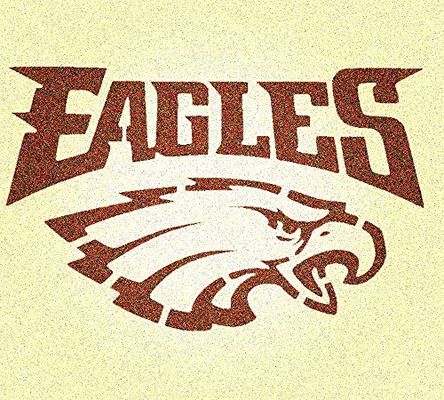 Philadelphia Eagles Stencil Mylar Mancave Sports Football Stencils