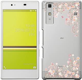 [Breeze-正規品] iPhone ・ スマホケース ポリカーボネイト [透明-Pink] キュア フォン カバー Qua phone[KYV37] [KYV371810BA]