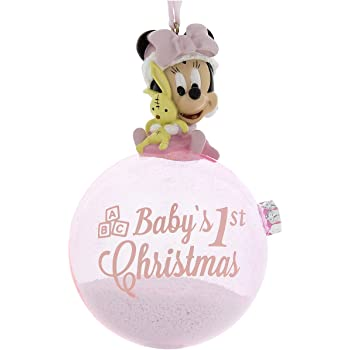 Babys First Christmas Ornament Disney 2020 Amazon.com: Disney Parks Blue Baby Mickey Mouse Baby's First