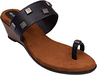 pelle albero Womens Black Heel Sandals