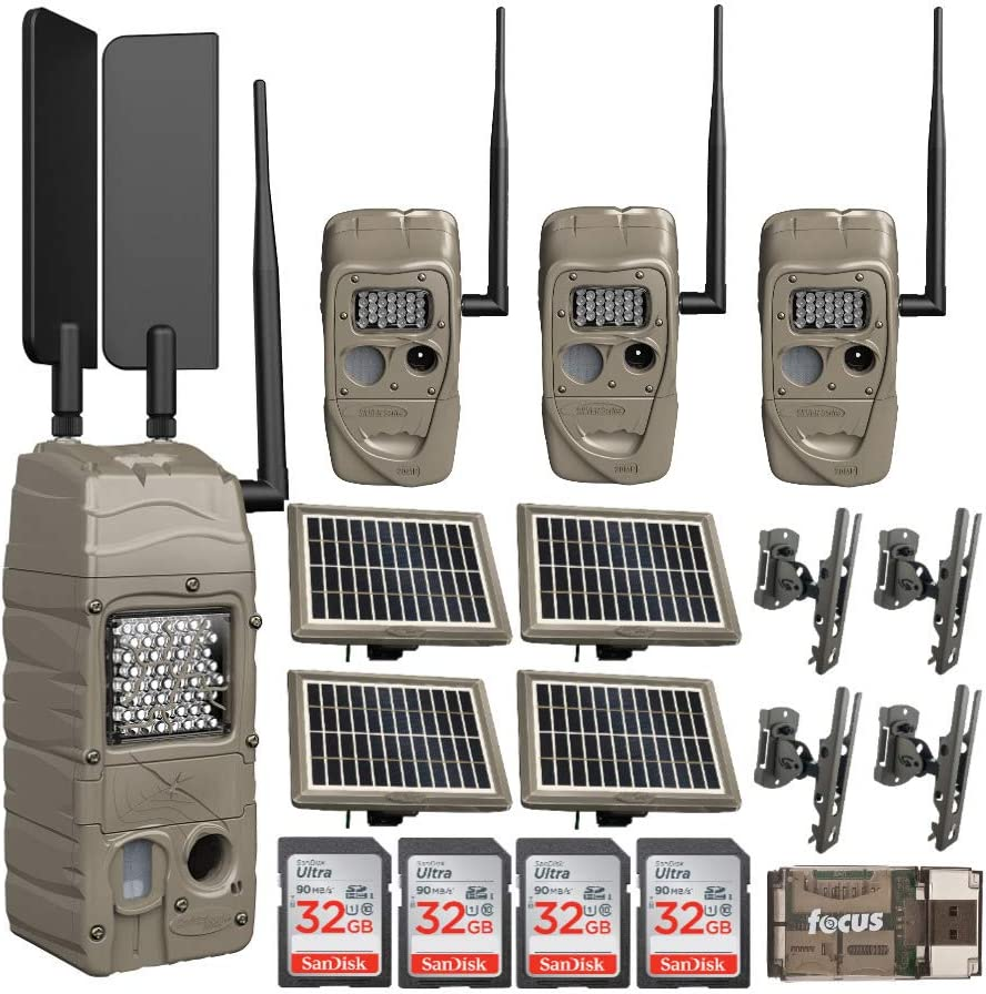 Cuddeback CuddeLink Recommendation Ranking TOP3 Powerhouse IR Cell Model Trail Camera ATT