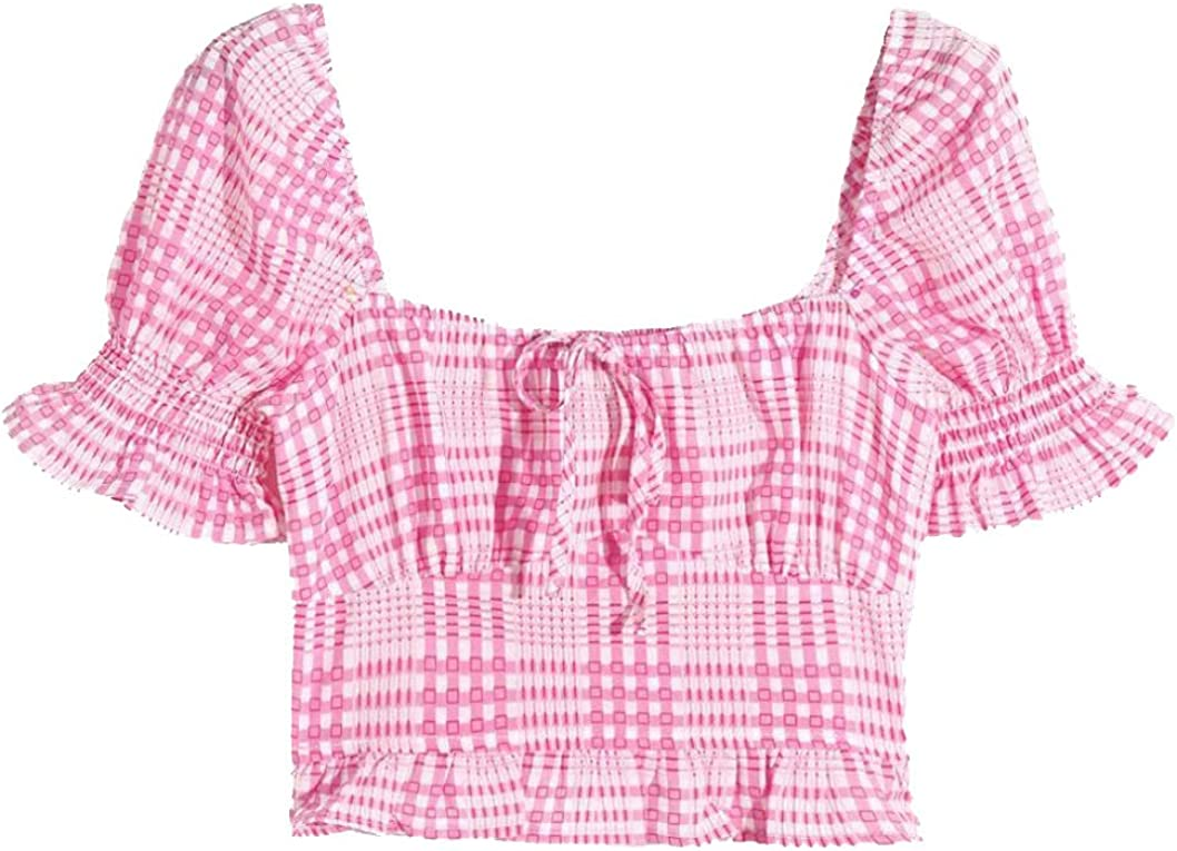 Camisa de Burbujas para Mujer Blusa Rosa Sudadera de Manga ...