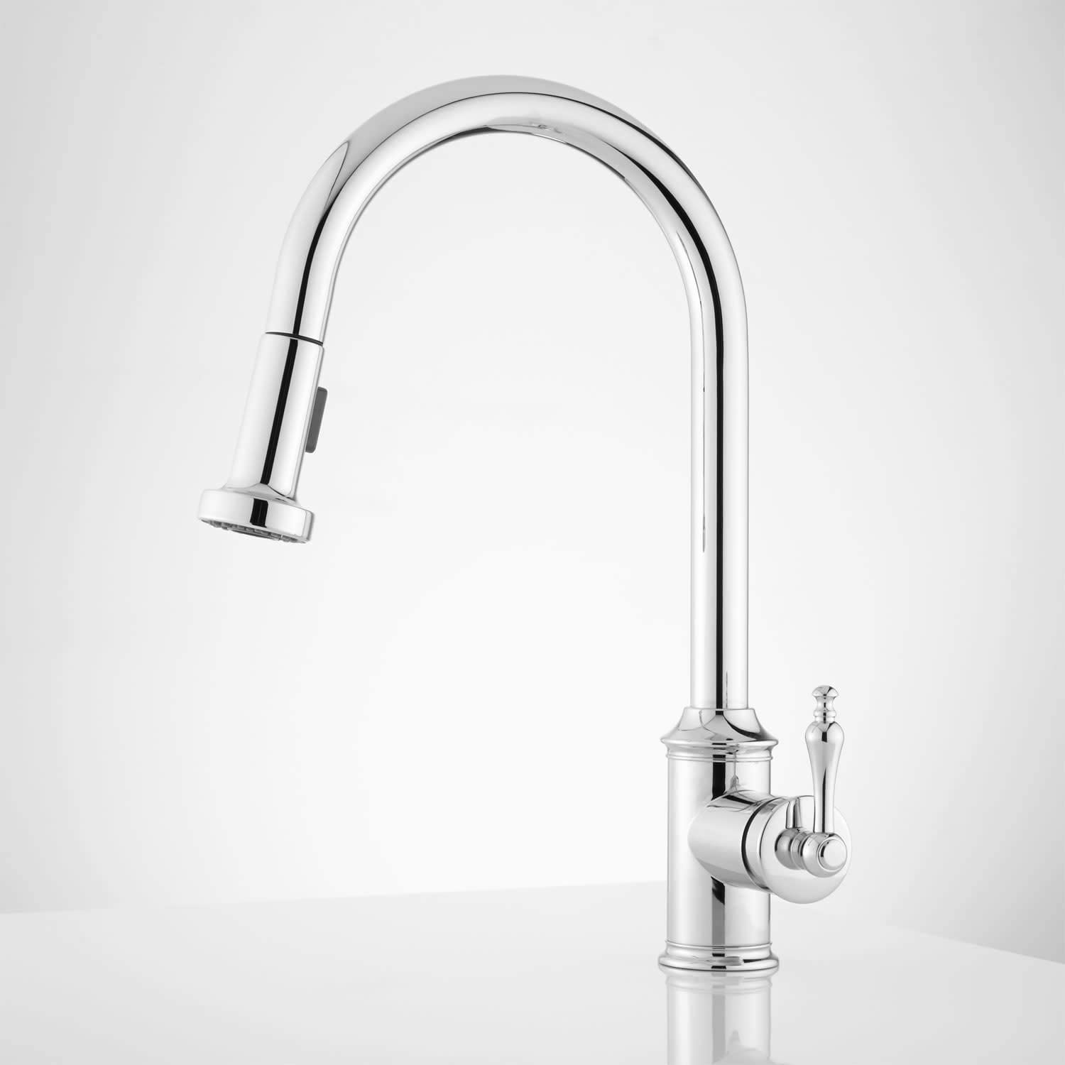 Signature Hardware 943002 Southgate Pull-Down Kitchen Faucet
