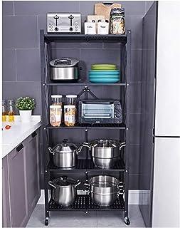Étagères de cuisine plancher plancher multi-couches pour appareils électriques de rangement, étagère de cuisine, rangement...