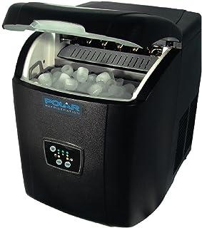 Polar Machine a glace manuelle Noir Capacita 10 kg 380 x 305 x 380 mm