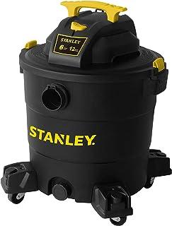 """Stanley 12 Gallon 6 Peak HP Wet/Dry Vacuum, 3 in 1 Shop Vac Blower,1-7/8""""x6 Hose,.."""