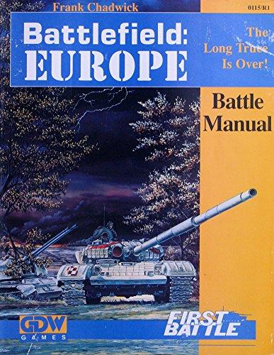 Battlefield Europe: Battle Manual (First Battle Series)