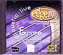 Edge 103.9 Acoustic Live and Rare ( Ultra Rare Exclusive Live & Acoustic Tracks)
