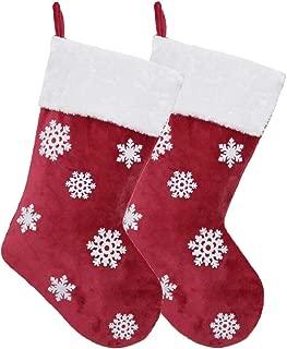 personalized snowflake stockings