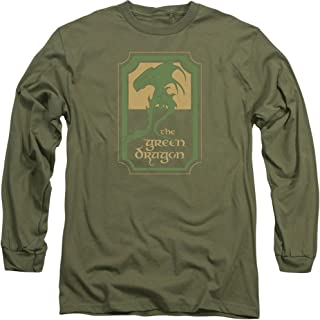 Lord of the Rings Movie GREEN DRAGON TAVERN Licensed Adult T-Shirt All Sizes
