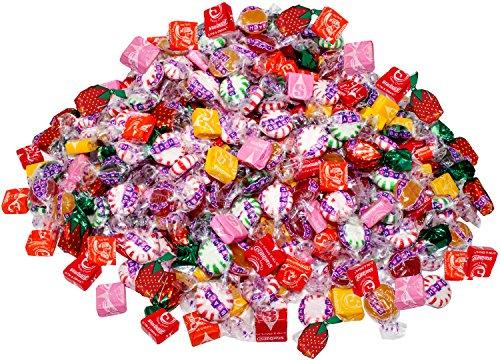 Assorted Starburst & Brach's 8.75 Lb Bulk Soft Chewy & Hard Candy Mix Value Pack 700 Pcs (140 oz)