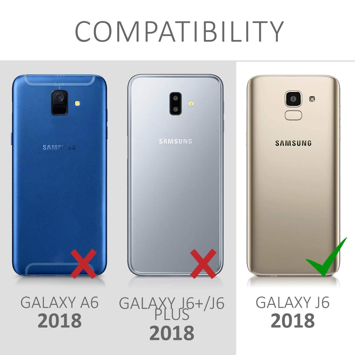 kwmobile Funda Compatible con Samsung Galaxy J6: Amazon.es ...