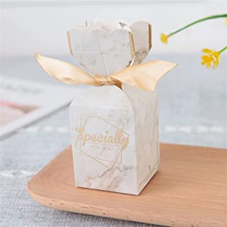 Gift Box New Multicolor Fish Tail Paper Candy Box Wedding Favors Gift Boxing with Band Baby Shower Birthday Home Party Sup...